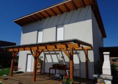 Dali Meistermaler Fassadengestaltung Einfamilienhaus 03