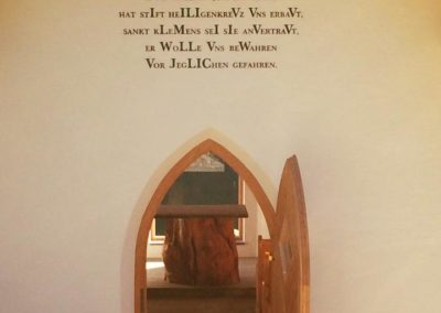Dali Meistermaler Kapellensanierung
